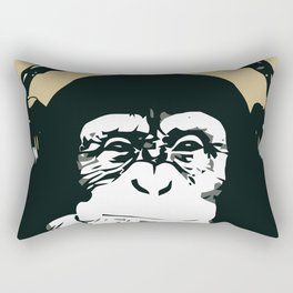 Monkey music Rectangular Pillow