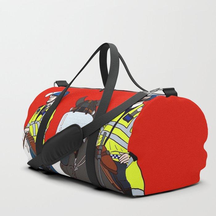 London Metropolitan Horse Cops Duffle Bag