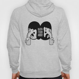 ' Death From A Beer '  Hoody