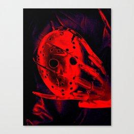 Freddy Vs. Jason Canvas Print