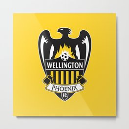 Wellington Phoenix Metal Print