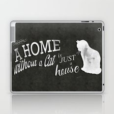 Home with Cat Laptop & iPad Skin