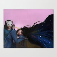 inspiration Canvas Prints featuring Inspiration by Li Pei Huang