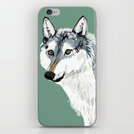 Totem Alberta Wolf iPhone Skin