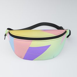 Sunset Origami Fanny Pack