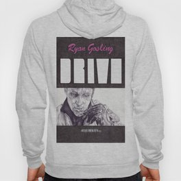 DRIVE hand drawn movie poster in pencil Hoody