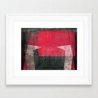 gemini Framed Art Prints featuring Gemini by Fernando Vieira