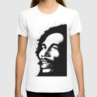 marley T-shirts featuring Marley by Mr Shins