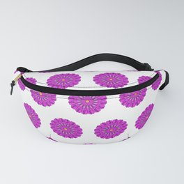 Lovely Pink Chrysanthemums Floral Pattern Fanny Pack