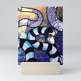 Yellow-Lipped Sea Krait Mini Art Print