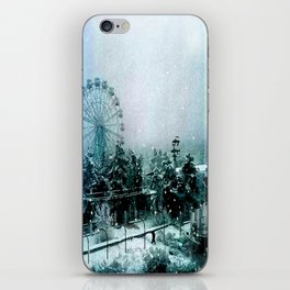 Cold Forest Playground iPhone Skin