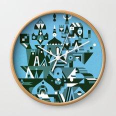 Structura 3 Wall Clock