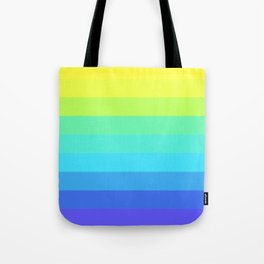 Slices Of Colors Tote Bag