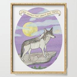 Wildlife: Wolf Serving Tray