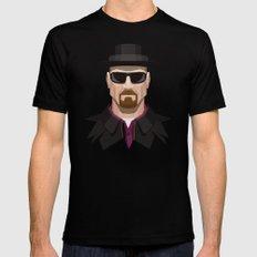 Breaking Bad - Heisenberg Black MEDIUM Mens Fitted Tee