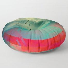 AQUARIUS (CIRCLE DESIGN) Floor Pillow