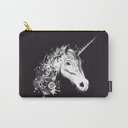 Head of a unicorn Carry-All Pouch