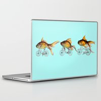 fish Laptop & iPad Skins featuring fish by Кaterina Кalinich