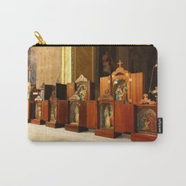 Holy Family shrines Carry-All Pouch