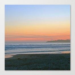 Sunset at Stinson Beach. Canvas Print