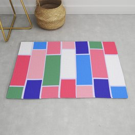 Colored Tiles Version 2 Rug