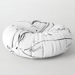 Fox Skull Floor Pillow