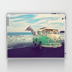 NEVER STOP EXPLORING THE BEACH Laptop & iPad Skin