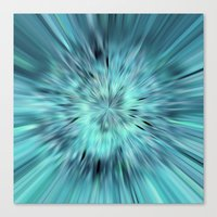 emerald Canvas Prints featuring Emerald by Armine Nersisian