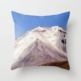 Volcanos Throw Pillow