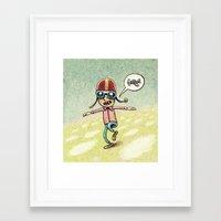 pilot Framed Art Prints featuring Pilot by MaComiX