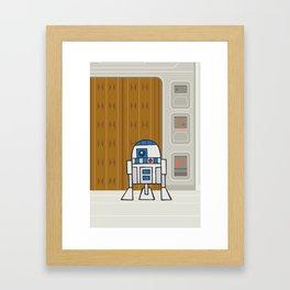 EP5 : R2D2 Framed Art Print