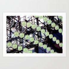 Rhythm Cubes Art Print