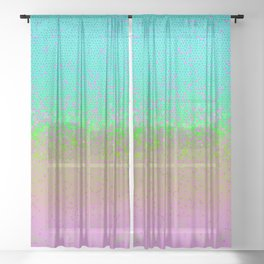 Glitter Star Dust G245 Sheer Curtain