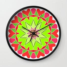 Elegant mandala Wall Clock
