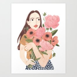Leonora Art Print