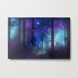 Out of the dark mystic light Metal Print
