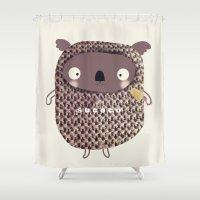 koala Shower Curtains featuring koala by Sucoco