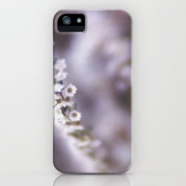The Smallest White Flowers 02 iPhone Case