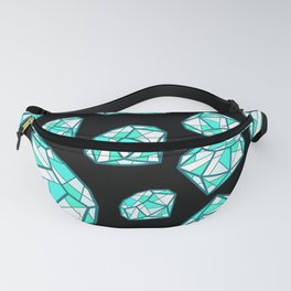 Diamonds are Forever until they're pawned Fanny Pack