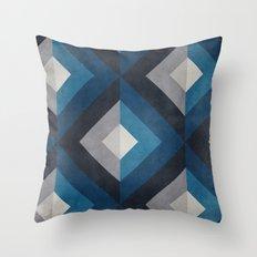 Greece Hues Diamond Throw Pillow