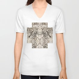 Cruciform Unisex V-Neck