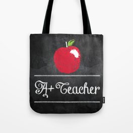 A+ Teacher Tote Bag