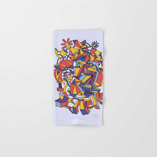 - dreamed architecture - Hand & Bath Towel