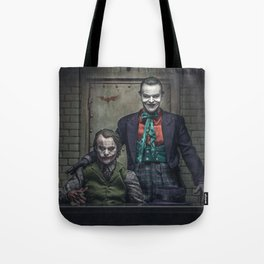 The Jokers in color Tote Bag