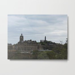 Everything Edinburgh Metal Print