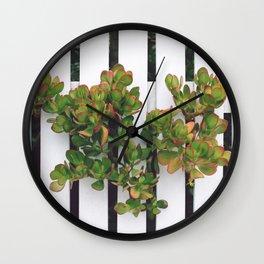 s u c c u l e n t Wall Clock