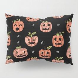 Pumpkins halloween cute jack-o'-lantern pattern fall autumn gifts Pillow Sham