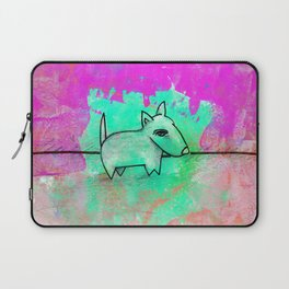 Dog No.1f by Kathy Morton Stanion Laptop Sleeve