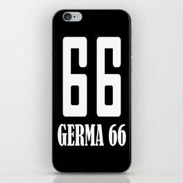 Germa 66 iPhone Skin