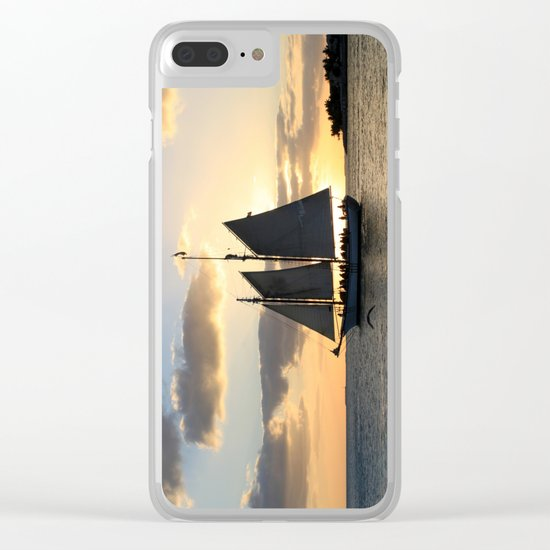 A way to the sun Clear iPhone Case